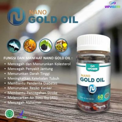 Nano Gold oil Infinesse Herbal